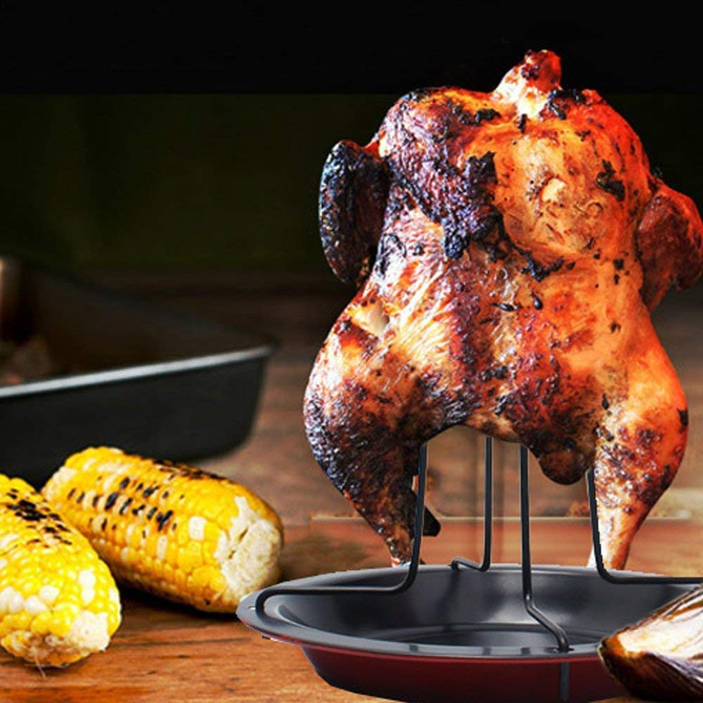 Nuoyi Beer Can Chicken Grill - Soporte de Pollo a la ...