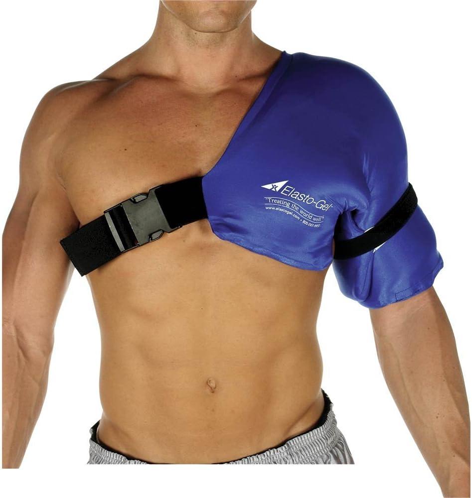 "Elasto-Gel SWT111LXL Shoulder Sleeve L/XL 17""x24"" SW9005, Blue: Health & Personal Care"
