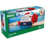 BRIO World - 33569 Ferry Ship | 3 Piece Toy Train Accessory for Kids Ages 3 and Up