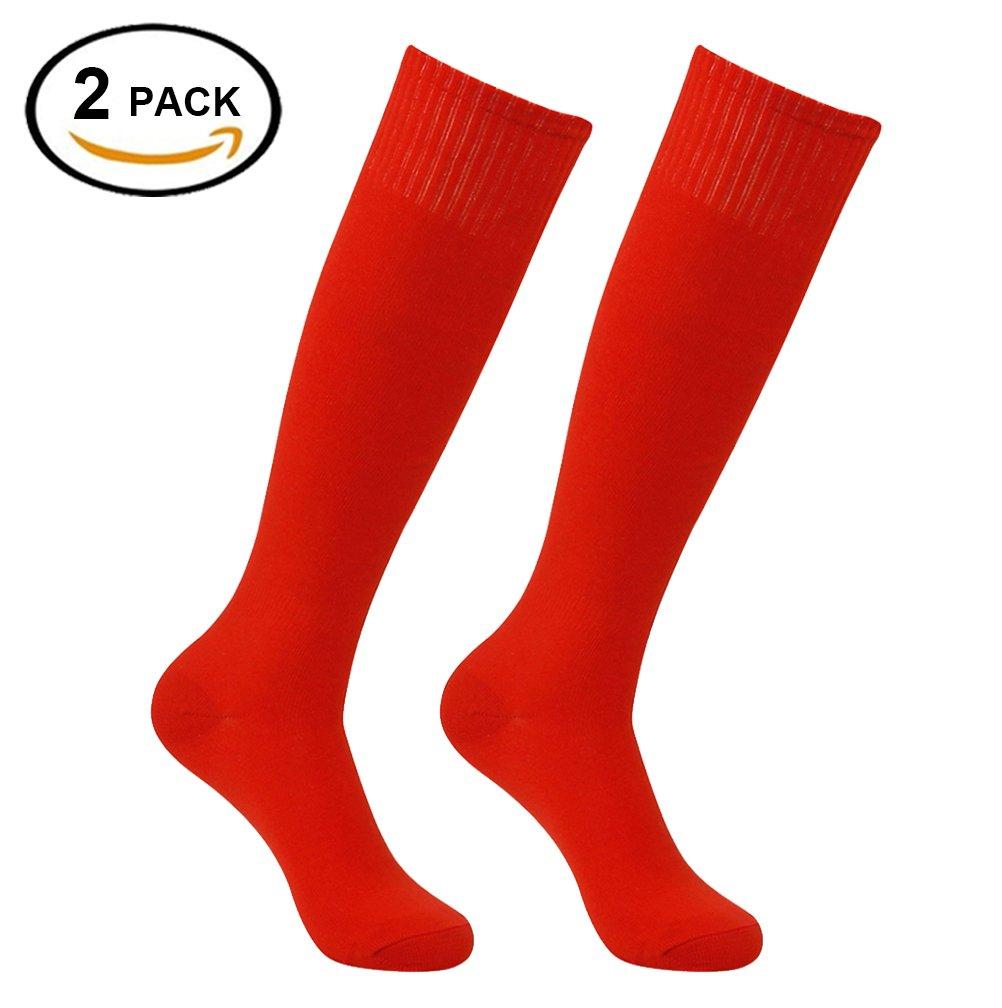 Feelingway SOCKSHOSIERY メンズ B076V7H5JM 2 Pairs Red 2 Pairs Red