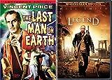Omega Men Collection - The Last Man on Earth [1964] & I Am Legend [2008] 2-DVD Bundle