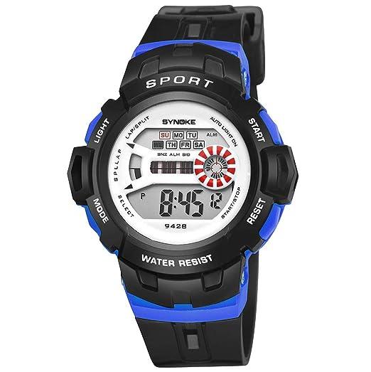 Kanpola Niño Smartwatch Fashion Relojes, SYNOKE Multi ...