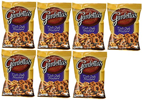 Gardetto's Deli Style Mustard Pretzel Snack Mix, 5.5oz each (7 Count) ()
