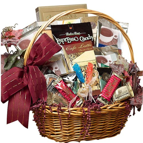SCHEDULE YOUR DELIVERY DAY! Cafe Gourmet Premium Coffee Lovers Gift Basket