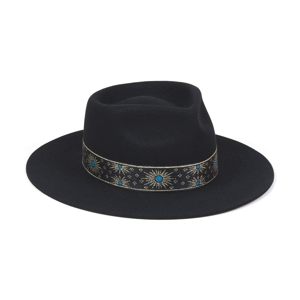 Lack of Color Women's The Phoenix Fedora (Black, Small (55cm))