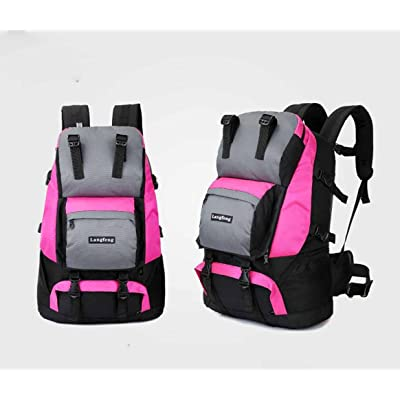 AllureFeng Printemps sac de sport loisirs de plein air, imperméable et ultralégère randonnée 45L camping sac à dos de randonnée sac à dos résistant à la dé
