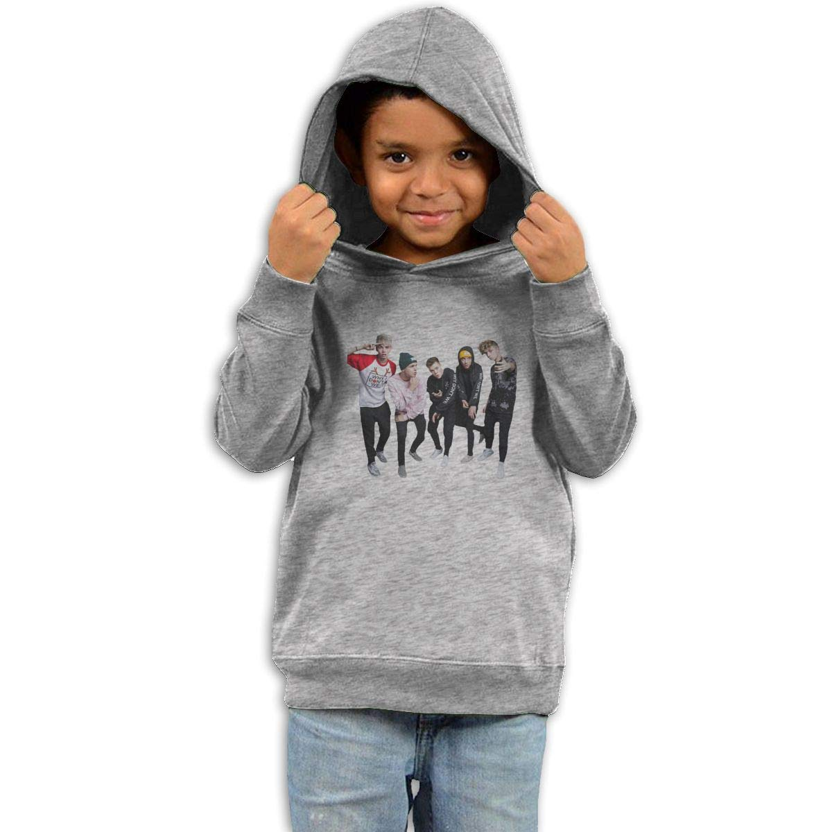 Stacy J. Payne Boys Why Dont We Lovely Sweater39 Gray