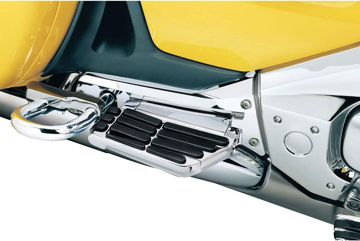 Kuryakyn 8991 Motorcycle Accessory Chrome Swing-Out Padded Passenger Armrests with Drink//Cup Holder for 2001-17 Honda Gold Wing GL1800 Motorcycles