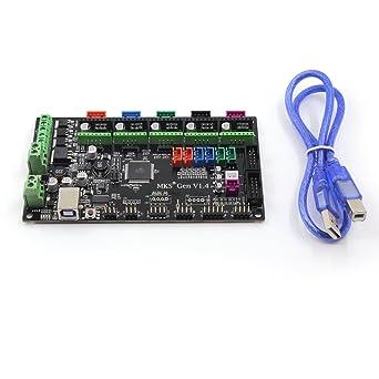Placa de control para impresora 3D Gen V1.4 RepRap Ramps 1.4 MKS ...
