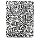 Broken Zebra Stars Fitted Sheet: King Luxury Microfiber, Soft, Breathable