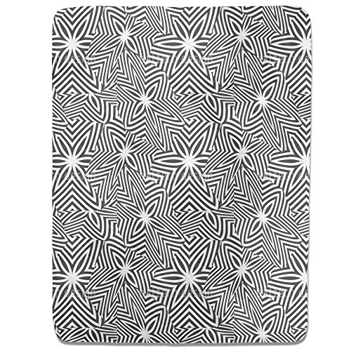 Broken Zebra Stars Fitted Sheet: King Luxury Microfiber, Soft, Breathable by uneekee