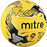 Mitre Ultimatch Fluo Hyperseam Soccer Ball, Yellow/Black/Silver, Size 3