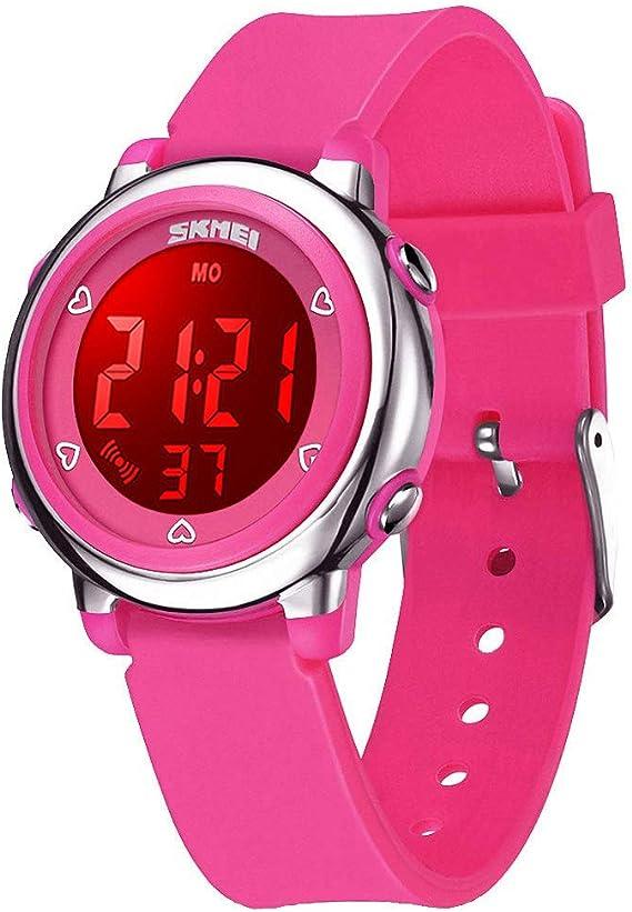 Amazon.com: WUTONYU (TM) Reloj digital para niños, niños ...