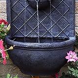 Sunnydaze Messina Outdoor Wall Water Fountain