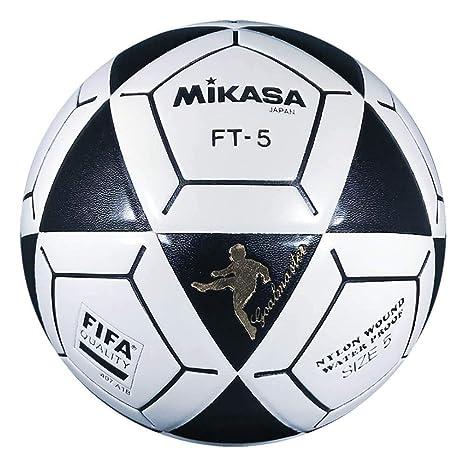 Mikasa FT5 Goal Master - Balón de fútbol, Color Negro y Blanco ...