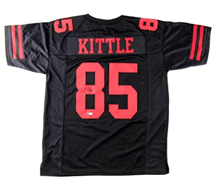best sneakers aa065 a6524 Amazon.com: George Kittle Autographed/Signed San Francisco ...