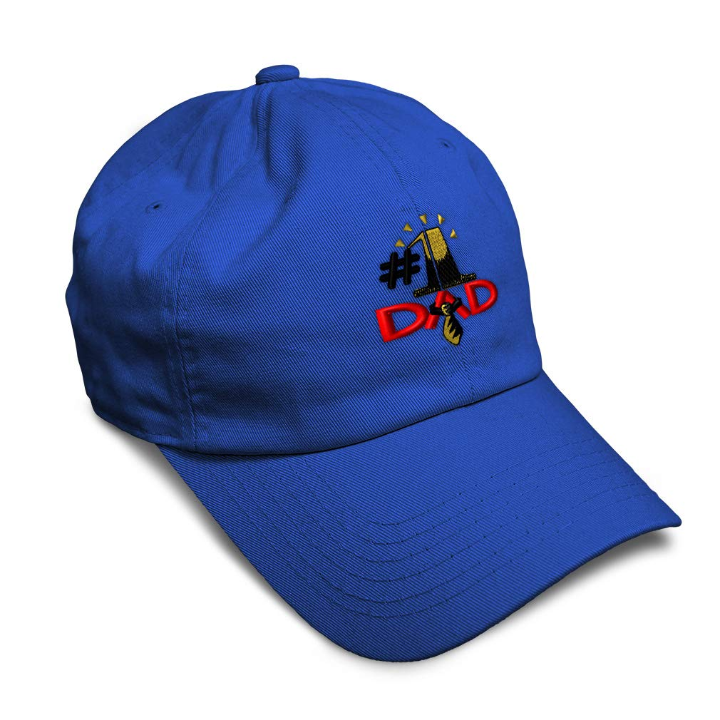 Custom Soft Baseball Cap Number 1 Dad Embroidery Dad Hats for Men /& Women