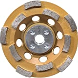 Makita A-96198 Double Row Anti-Vibration Diamond Cup Wheel, 4-1/2