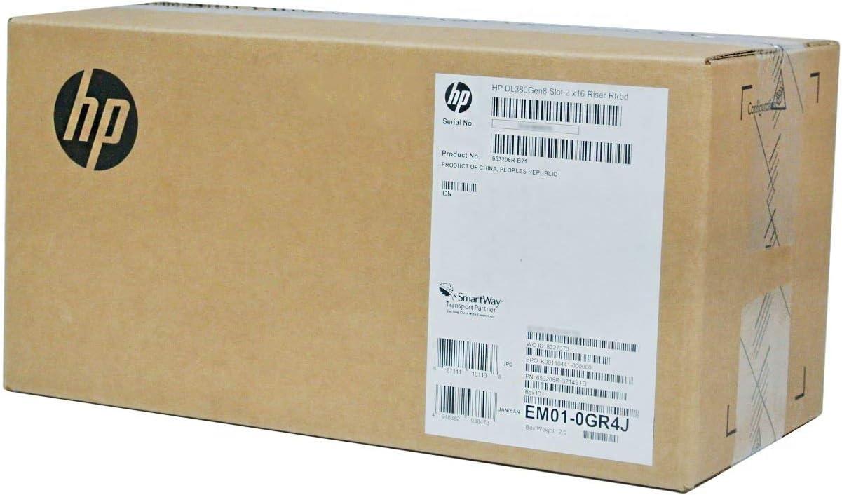 HP Server Options 653208-B21 DL380 GEN8 PCIE 3Slot 2X16 (Renewed)