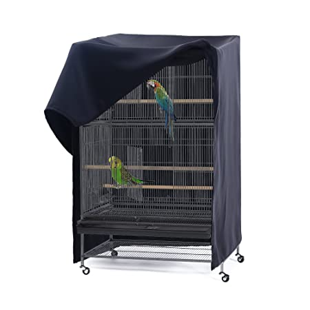 PONY DANCE Pets Product Universial Birdcage Cover Blackout Breathable Material