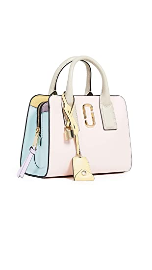 61f89f8a9a6 Marc Jacobs Women's Little Big Shot Satchel, Blush Multi, One Size:  Amazon.ca: Shoes & Handbags