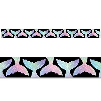 Creative Teaching Press Mystical Magical Mermaid Tails Border, CTP 8673: Office Products