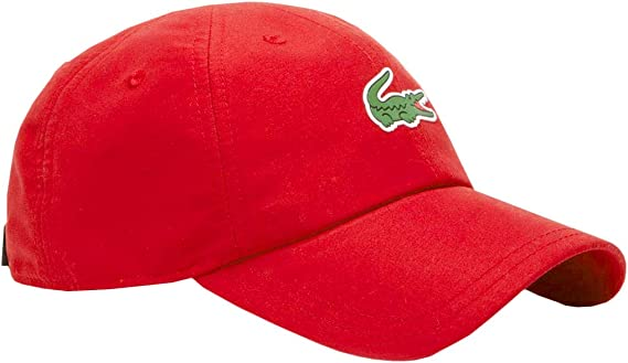 Lacoste Gorra RK2464 Rojo Unisex TU Rojo: Amazon.es: Ropa y accesorios
