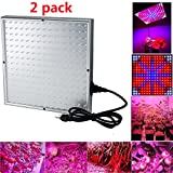 iMeshbean Quad-band 450 LED Grow Light Panel Hydroponic Plant Lamp Blue Red Orange White USA Seller