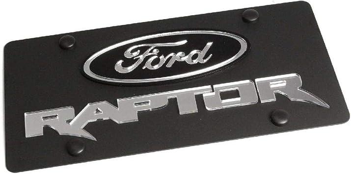 Ford Explorer License Plate on Black Steel Eurosport Daytona Inc.