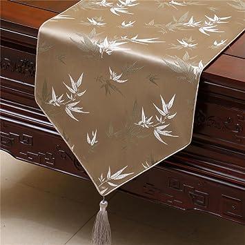 Uncle Sam Li Chinesisches Klassisches Muster Bambus Tischlaufer