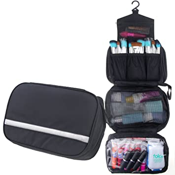 MLMSY Waterproof Hanging Type Travel Toiletry Bag Makeup Bag Travel  Organizers For Cosmetic, Shaving, 971aebd36b