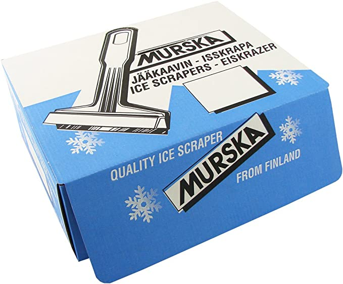 per l/'inverno LP A059/ originale dalla Finlandia qualit/à elevata 2 pezzi /spazzola da neve per auto Murska L/&P Car Design