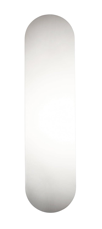 /Umsatzsteuer registriertes Edelstahl poliert T/ür Finger Push Teller/ /selbstklebend/ /Runde Kante/ /1,2/mm/ /300/x 75/mm/