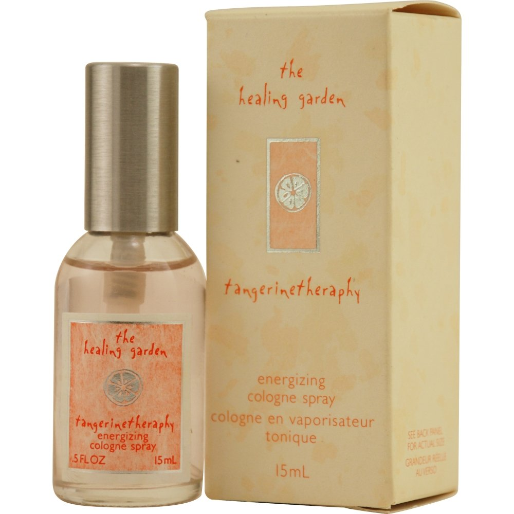 Healing Garden Tangerine Therapy by Coty Energizing Cologne Spray for Women, 0.5 Ounce