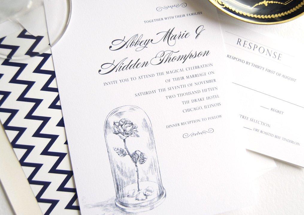 Beauty And The Beast Wedding Invitation Wording Wedding Ideas
