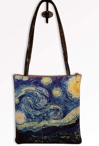 Van GoghAmazon Estrellada Noche De esHandmade Bolso mN0w8n