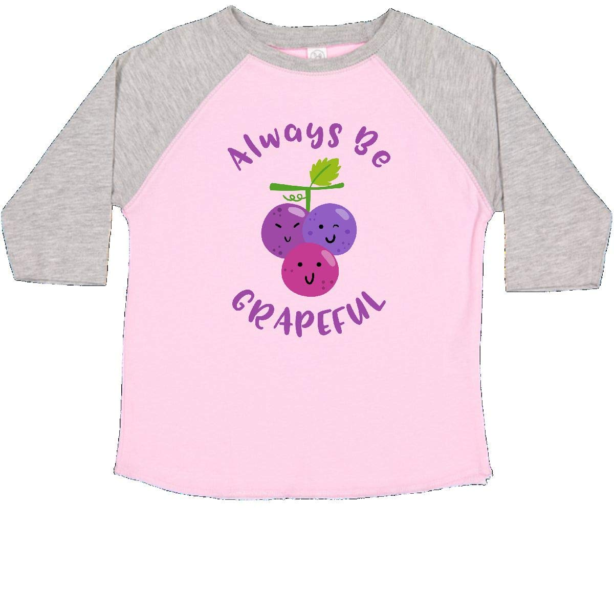 inktastic Always Be Grapeful Toddler T-Shirt