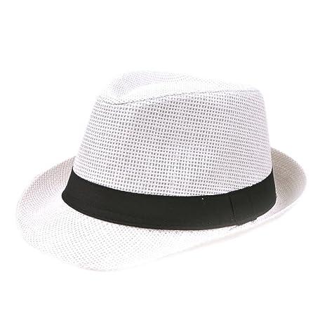 Lumanuby - Sombrero de paja para hombre d5d6e4c575f