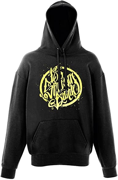 187 Straßenbande Logo Hoodie schwarzgelb