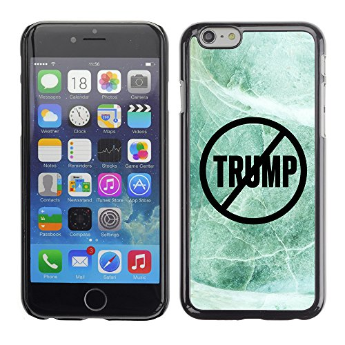Print Motif Coque de protection Case Cover // Q04110537 Never Trump marbre de jade // Apple iPhone 6 6S 6G 4.7""