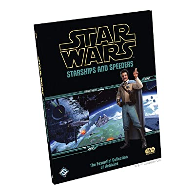 Fantasy Flight Games Star Wars RPG: Starships and Speeders: Toys & Games