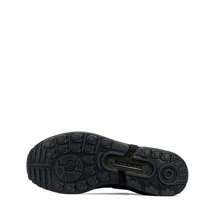 Black Trainers Mens Adidas ZX Flux PK S75976 Kleidung