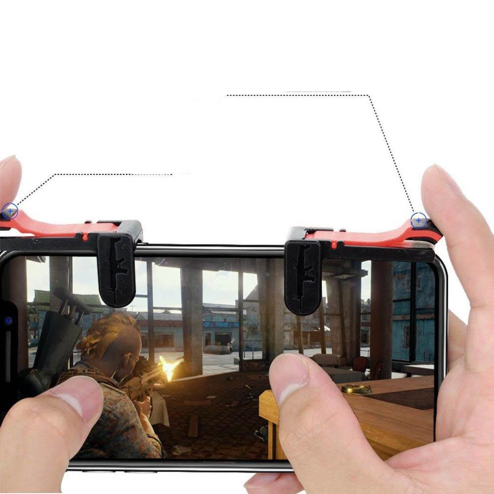 Cell Phone Game Controller Sensitive Shoot and Aim Keys L1R1 Shooter Controller for PUBG//Knives Out//Rules of Survival Xshuai Mobile Game Controller Mobile Gaming Joysticks for Android IOS