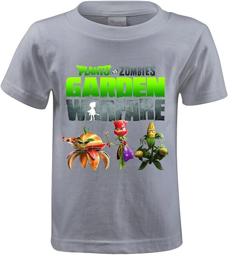 MooT Plants Vs Zombies 2 Garden Warfare Boys Design Crew Neck T Shirt