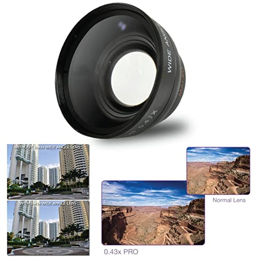 Review 58mm .43x Wide Angle