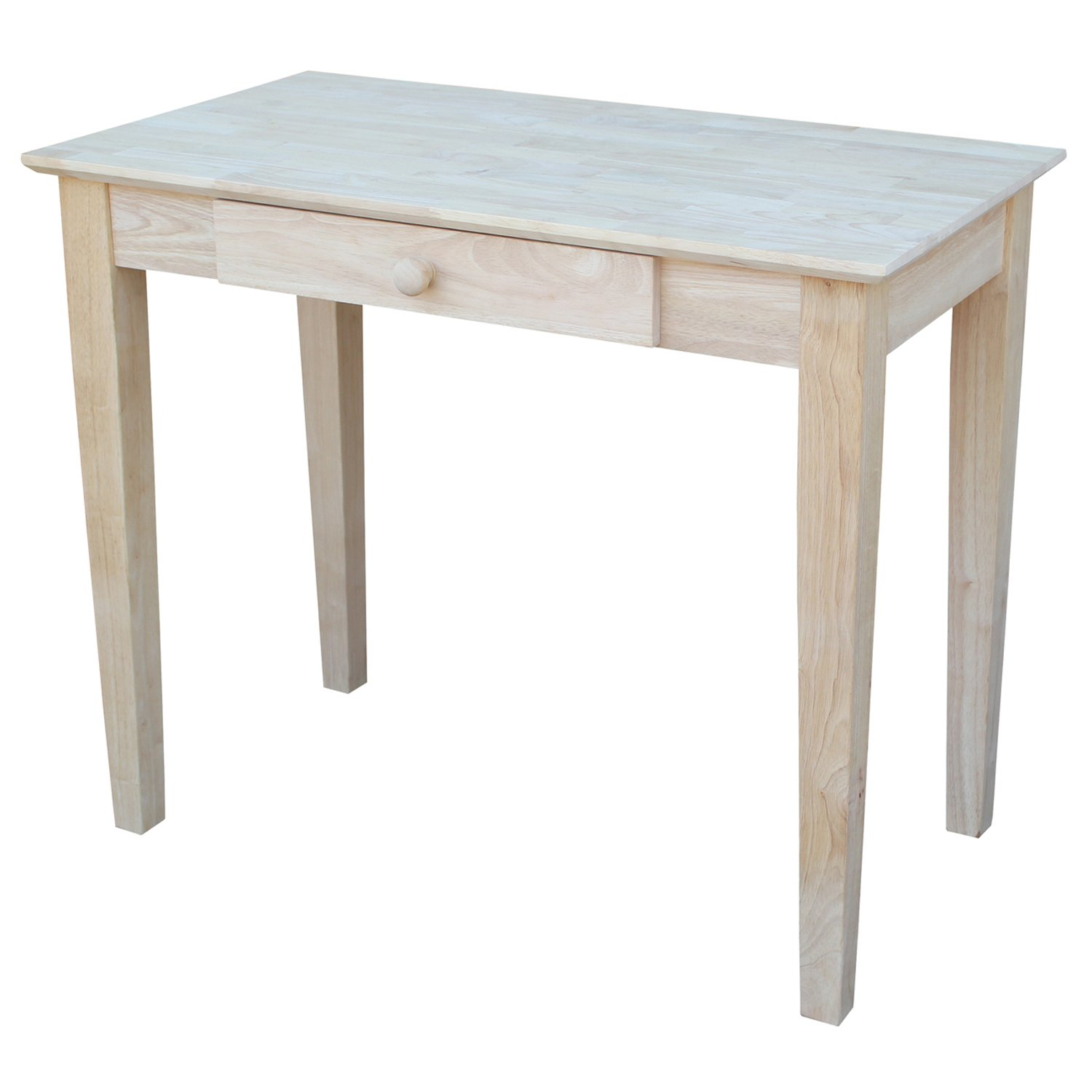 Amazon international concepts writing table unfinished amazon international concepts writing table unfinished kitchen dining geotapseo Images