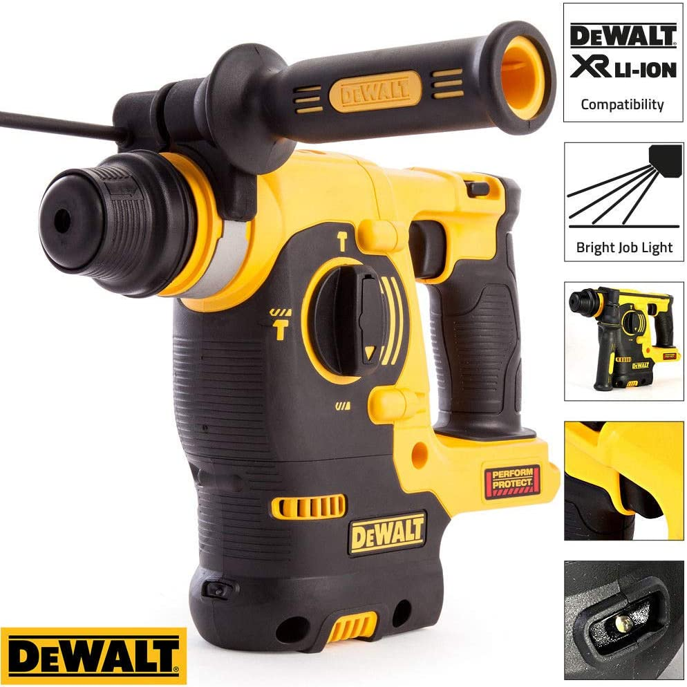 Dewalt DCH253N 18volt Li-ion XR 3 Mode Cordless Rotary Hammer Body Only