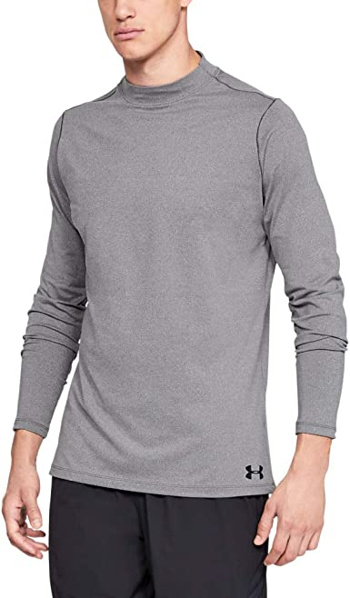 Pick Color /& Size 2019 Under Armour UA Mens ColdGear Armour Fitted Mock Shirt
