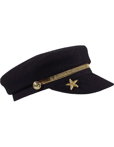Gorra Marinera Estrella de Maison Scotch (Única - Negro)