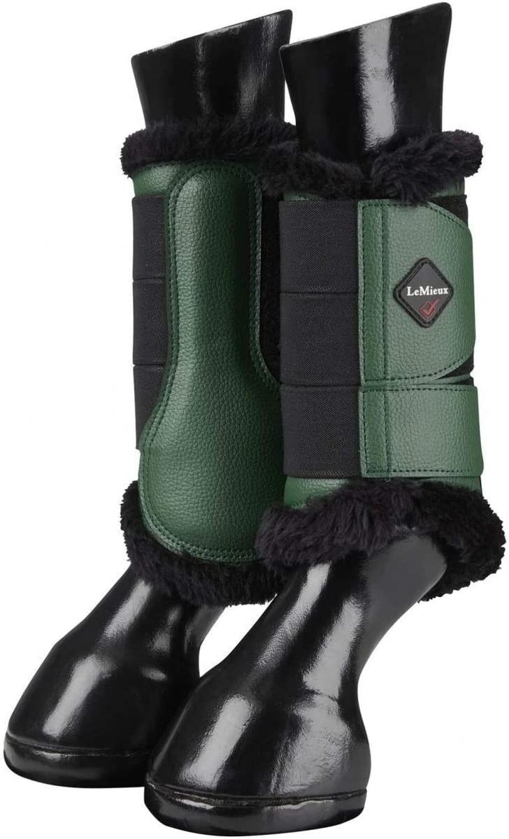 LeMieux Fleece Lined Brushing Boots Pair B/ürstenstiefel